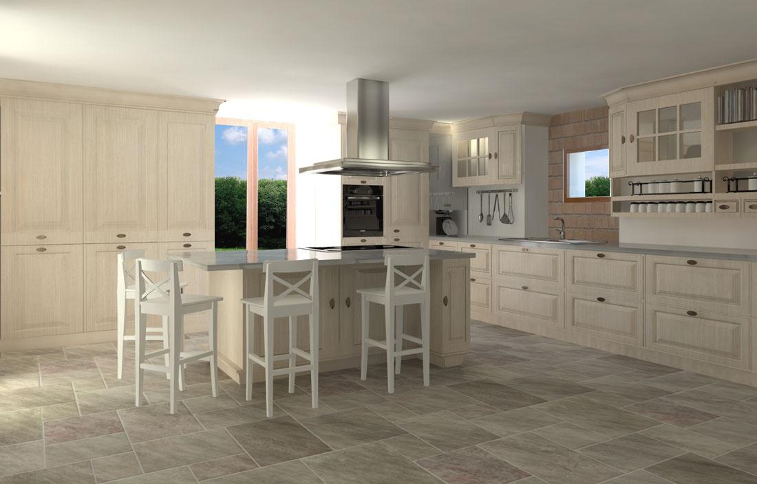 Render4Arch - rendering cucina