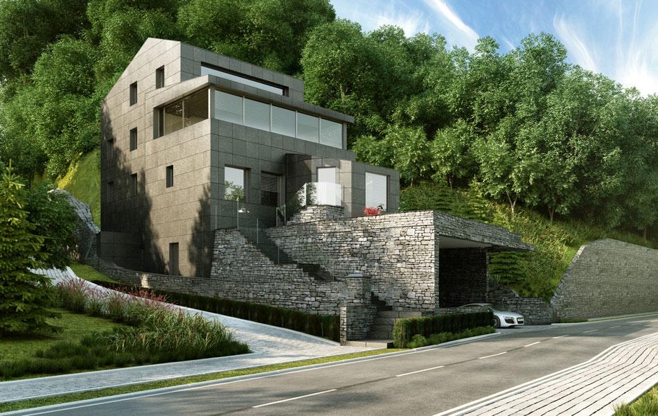 Progetti Per Esterni : Rendering d di interni ed esterni per architettura render arch