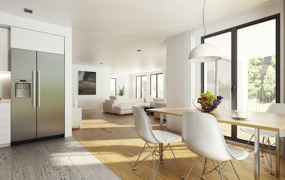 Rendering 3D di interni ed esterni per architettura  Render4Arch