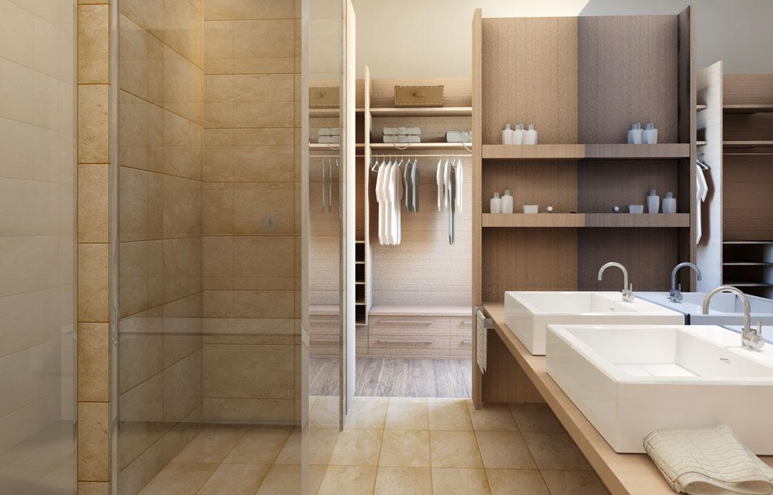 Rendering 3D interior design appartamento Lugano | Render4Arch