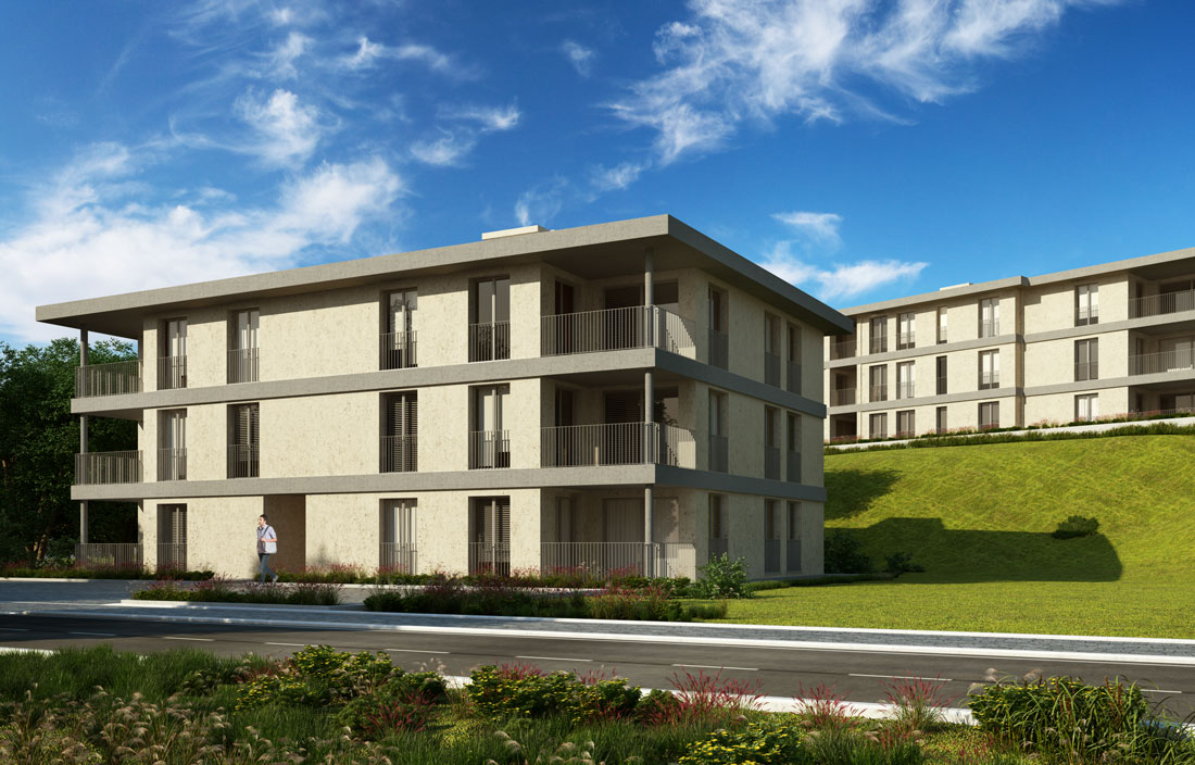 Render4Arch - rendering 3D complessi residenziali